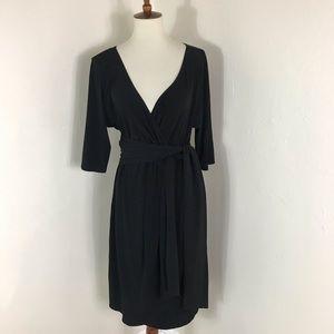 Kiyonna Harrow faux wrap dress